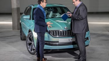 Skoda VisionS concept - John McIlroy interview
