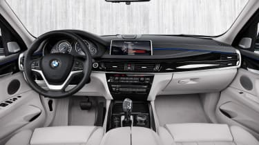 BMW X5 xDrive40e - cabin