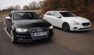 Audi S4 Avant vs Volvo V60 T6