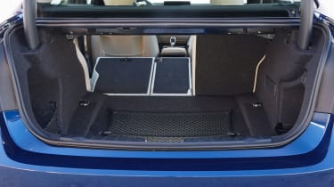 BMW 3 Series 2015 facelift - boot seats down