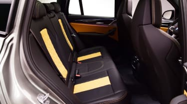 BMW X3M - rear seats