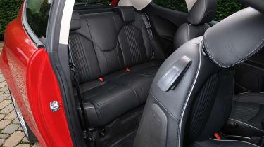 Alfa Romeo Mito Rear seats