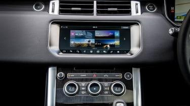 Range Rover Sport HSE MY2017 - infotainment