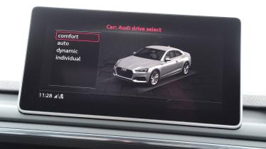Audi RS 5 - infotainment
