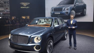 Bentley EXP 9 F front show