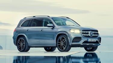 Mercedes GLS - grey front/side static