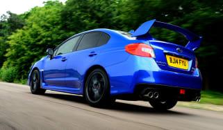 Subaru WRX STi 2014 - rear