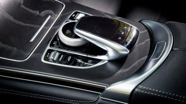 Mercedes GLC 250d Coupe - infotainment controls
