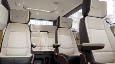 MOIA Shuttle interior