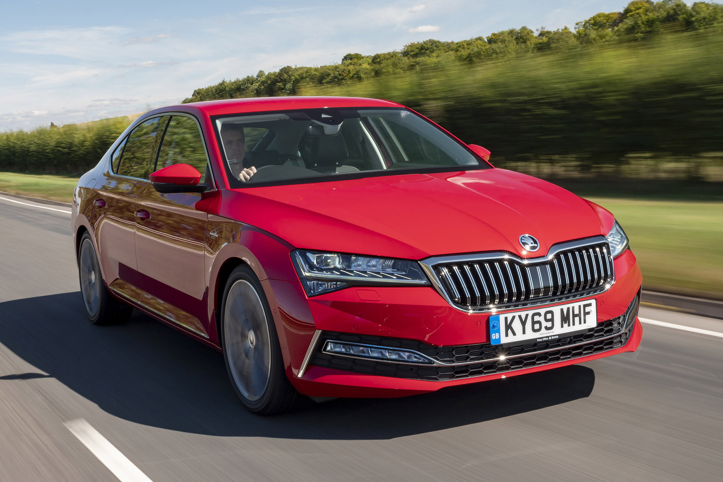 Skoda Superb Performance Engines Top Speed 0 62 Auto Express