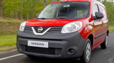Nissan NV250 front quarter