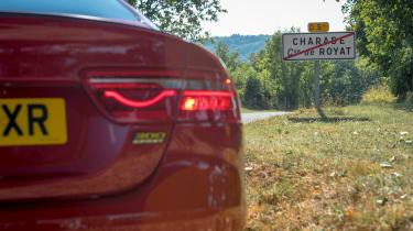 Jaguar XE tail light