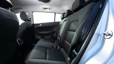 Kia Sportage - rear seats