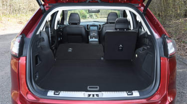 Ford Edge second report - boot