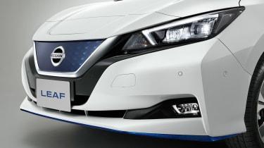 Nissan Leaf e+ - front detail