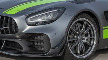 Mercedes-AMG GT R Pro - front light/wheel