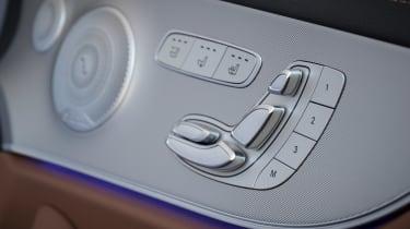 Mercedes E-Class Cabriolet - seat controls