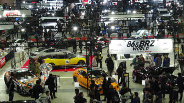 BRZ world at the Tokyo Auto Salon