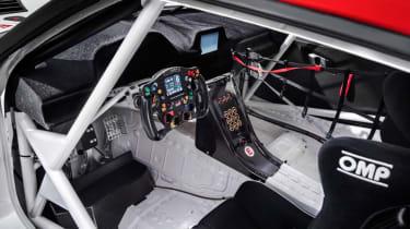 Toyota GR Supra concept in car