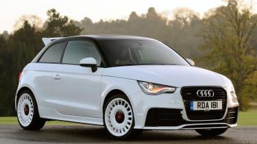Audi A1 quattro front static
