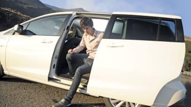 Mazda 5 1.6D sliding door