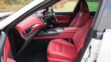Maserati Levante S - front seats