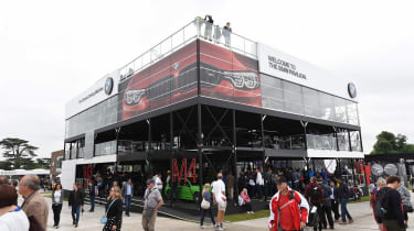 BMW Goodwood stand