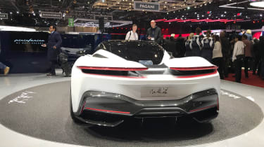 Pininfarina Battista at Geneva Motor Show 2019 white