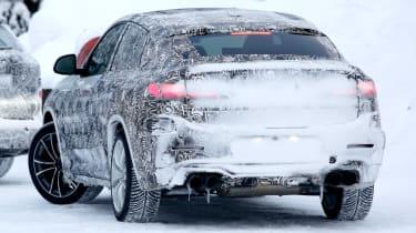 BMW X4 M rear left quarter
