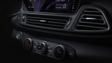 Chery frankfurt SUV teaser interior