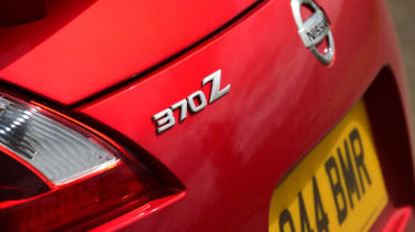 Nissan 370Z GT – rear badge