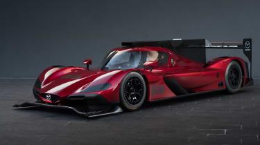 Mazda RT24-P racing car - front three quarter