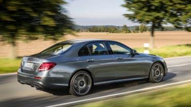 Mercedes-AMG E 43 4MATIC - rear tracking