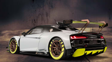 Audi R8 LMS GT2 - rear