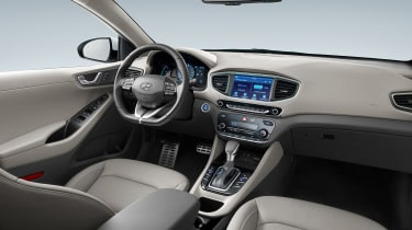 Hyundai Ioniq plug-in PHEV - interior 2
