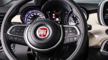 Fiat 500X - steering wheel
