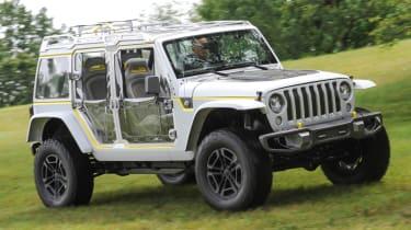 Jeep's wildest concepts driven - Safari front quarter static