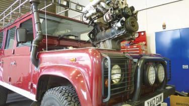 Best ever Land Rover Defender engines -1