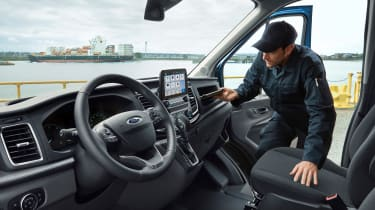 New Ford Transit interior
