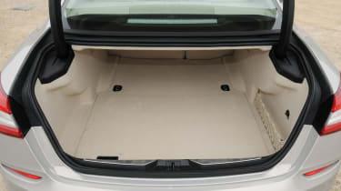 Maserati Quattroporte boot