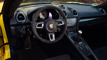 New Porsche Cayman GTS review - interior