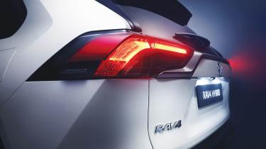 New Toyota RAV4 - rear detail