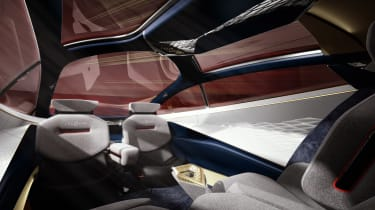 Aston Martin Lagonda Vision concept - interior
