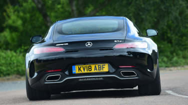 Mercedes-AMG GT C - rear action