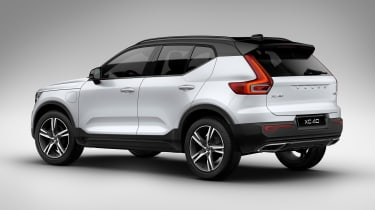 Volvo XC40 T5 plug-in hybrid - rear