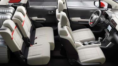 Citroen C3 Aircross - seats
