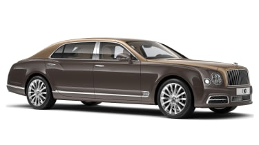 Bentley Mulsanne First Edition - front quarter