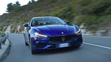 Maserati Ghibli facelift - front tracking