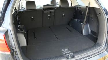 Kia Sorento boot space
