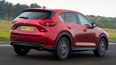 Mazda CX-5 SUV - rear